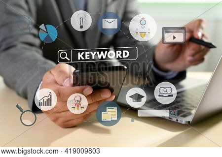 On-page optimization Keywords Research Communication. The SEO