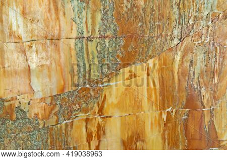 Creole Marble. Close-up Photo Of Natural Texture Of Finishing Stone