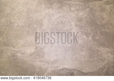 Grey Cement Wall Background With Abstract Pattern. Design Backgrounds Textures Interior