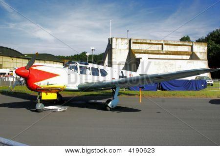 Nord 1101 At Raf Leuchars Air Sow 2006, Scotland
