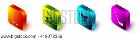 Set Isometric Ice Hockey Stick And Puck, Ice Hockey Cup Champion, Protective Sport Jockstrap And Ice