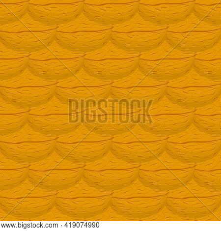 Illustration On Theme Big Pattern Identical Types Walnut