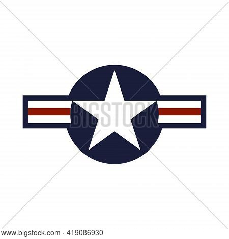 U.s. Air Force Identification Badge. The Logo