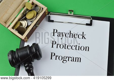 White Paper Written With Text Paycheck Protection Program