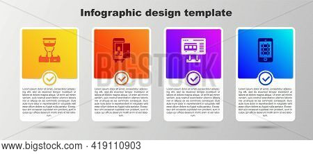 Set Train Conductor, Toilet The Train Car, Ticket Office Buy Tickets And Buy Online. Business Infogr