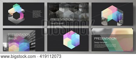 Vector Layout Of The Presentation Slides Design Business Templates, Multipurpose Template With Color