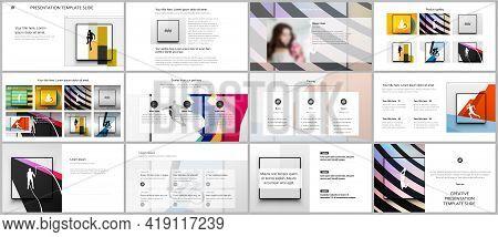 Vector Templates For Website Design, Presentations, Portfolio. Templates For Presentation Slides, Le