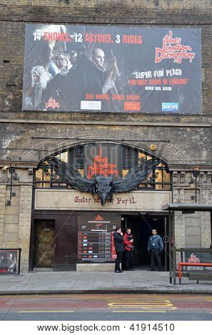 The Last Day Of The London Dungeon In Central London 31St January 2013