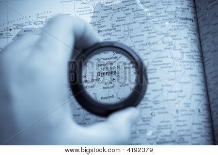 Map Of Bremen
