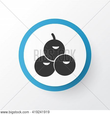 Olives Icon Symbol. Premium Quality Isolated Virgin Element In Trendy Style.