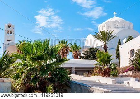 Orthodox Metropolitan Cathedral Of Thira, Santorini Island, Greece