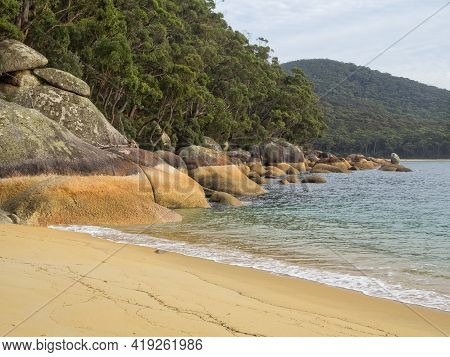 Refuge Cove Beach Is A Stunning, Secluded Beach On The East Side Of The Prom, Accessible On Foot Or