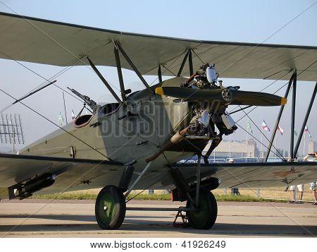 Retro Plane Po-2