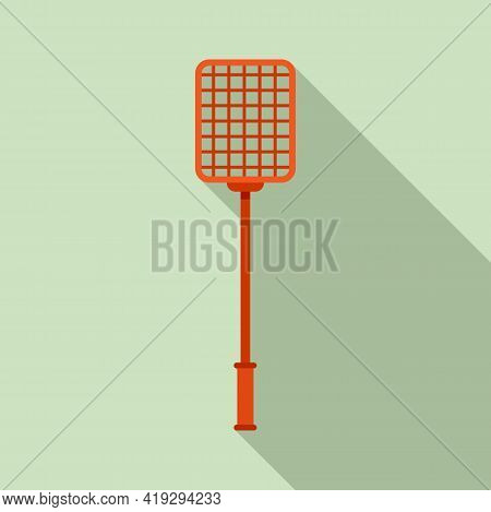 Handle Insect Stick Icon. Flat Illustration Of Handle Insect Stick Vector Icon For Web Design