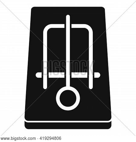 Mousetrap Icon. Simple Illustration Of Mousetrap Vector Icon For Web Design Isolated On White Backgr