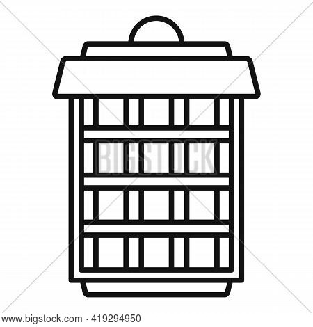 Insect Trap Icon. Outline Insect Trap Vector Icon For Web Design Isolated On White Background