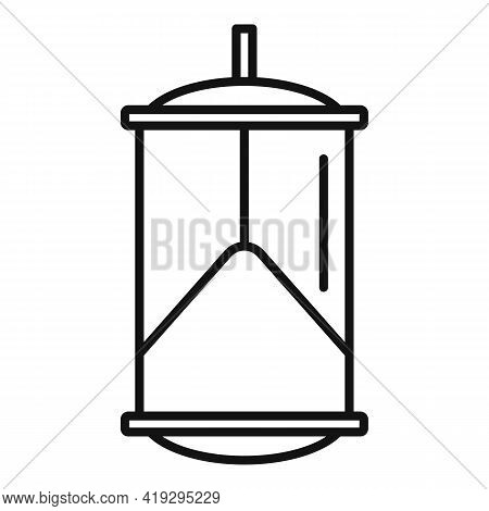 Bird Trap Icon. Outline Bird Trap Vector Icon For Web Design Isolated On White Background