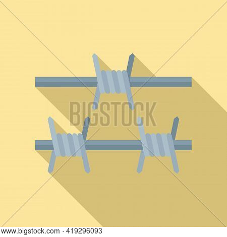 Border Wired Icon. Flat Illustration Of Border Wired Vector Icon For Web Design
