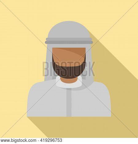 Asia Immigrant Icon. Flat Illustration Of Asia Immigrant Vector Icon For Web Design