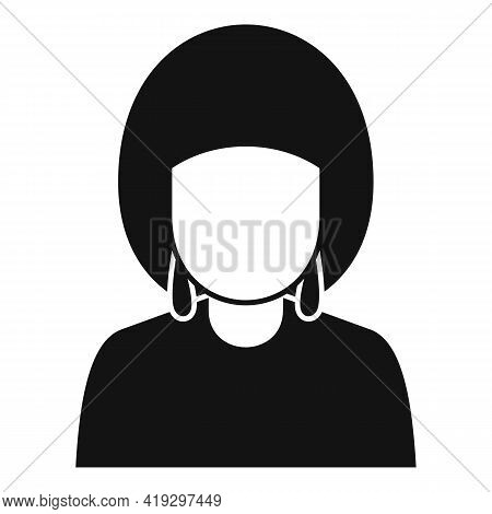 African Woman Immigrant Icon. Simple Illustration Of African Woman Immigrant Vector Icon For Web Des