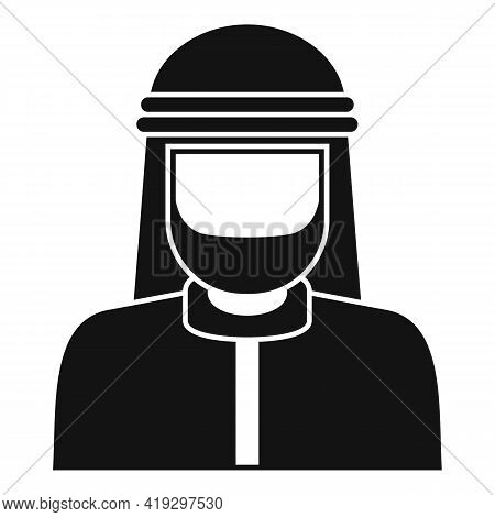 Asia Immigrant Icon. Simple Illustration Of Asia Immigrant Vector Icon For Web Design Isolated On Wh