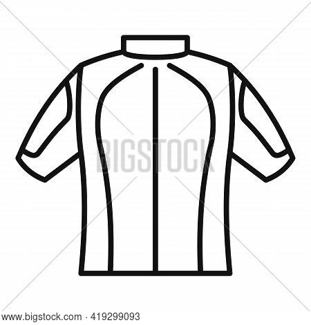 Parachuting Clothes Icon. Outline Parachuting Clothes Vector Icon For Web Design Isolated On White B
