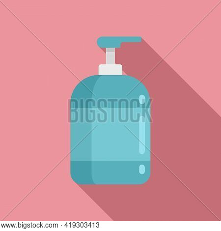 Soap Dispenser Icon. Flat Illustration Of Soap Dispenser Vector Icon For Web Design