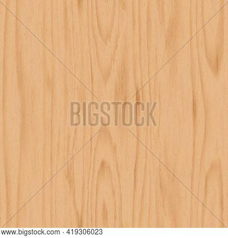Seamless Light Wooden Texture. Beech Wood Background