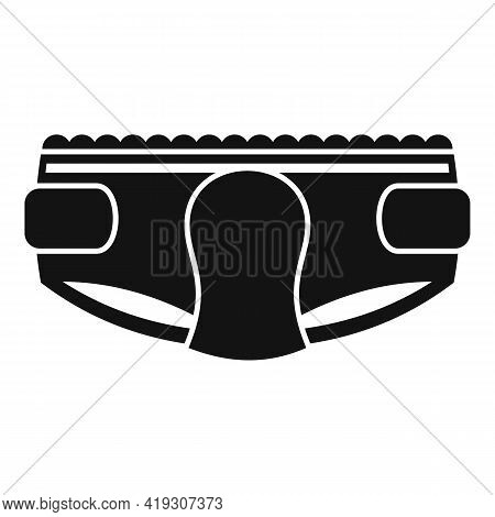 Moisture Diaper Icon. Simple Illustration Of Moisture Diaper Vector Icon For Web Design Isolated On