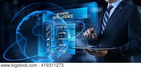 Business Intelligence Bi Concept Analytics Intelligence Big Data Analyze