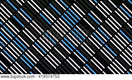 Colored Bars Move Diagonally. Animation. Beautiful Background Of Simple Rows With Moving Diagonal St