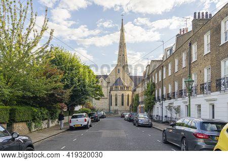 July 2020. London. St Yeghiche Armenian Church, London England