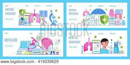 Pulmonologist, Phthisiologist Concept Vector For The Landing Page, Blog. Health Passport Concept Vec