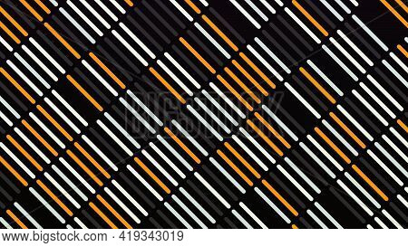 Rows Of Colored Stripes Move Diagonally. Animation. Beautiful Simple Background Of Colored Stripes M
