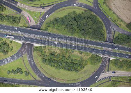 Road Junction Aerial