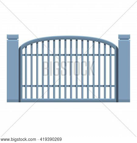 Wireless Gate Icon. Cartoon And Flat Of Wireless Gate Vector Icon For Web Design Isolated On White B
