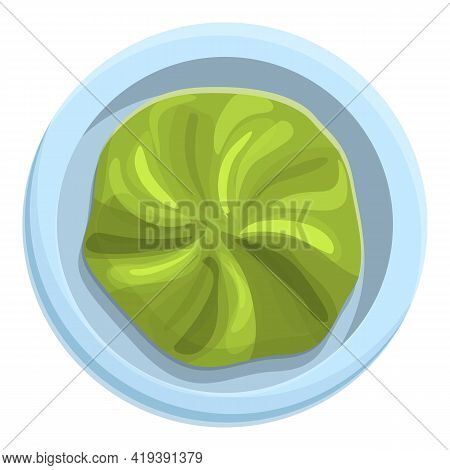 Condiment Wasabi Icon. Cartoon And Flat Of Condiment Wasabi Vector Icon For Web Design Isolated On W