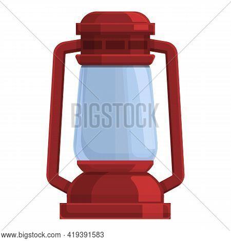 Kerosene Light Icon. Cartoon And Flat Of Kerosene Light Vector Icon For Web Design Isolated On White