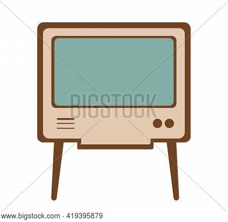 Vintage Technology Media Sound Retro Illustration For Electro Old