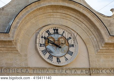 Finya Is One Of The Oldest Libraries Of Puglia. It Consists Of A Library Heritage Of More Than Eleve