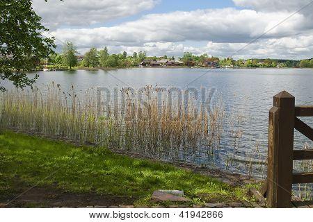 Landscape On Lake Galve