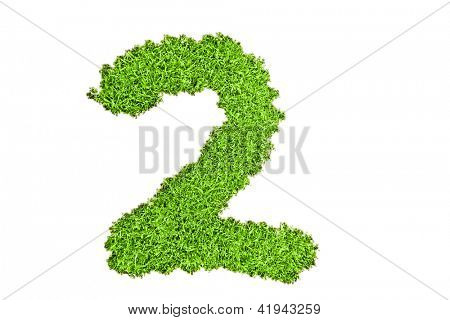 Number two from grass