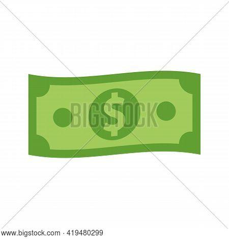 Dollar Icon. Money Sign. Dollar Money Cash Icon. Cash Register. Vector Illustration.