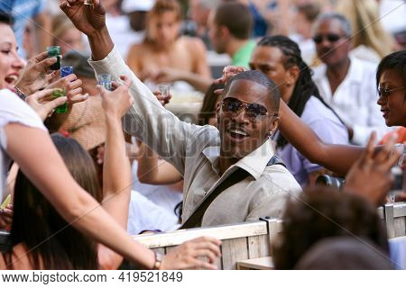Los Angeles, California June 17, 2007:  Jamie Fox At The Annual Playboy Jazz Festival In The Hollywo