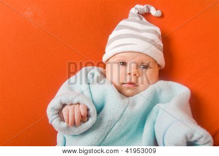 Adorable Baby In Hat