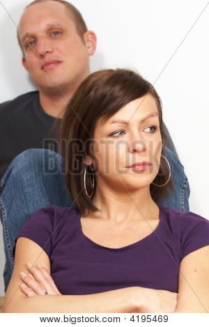 Couple Unhappy