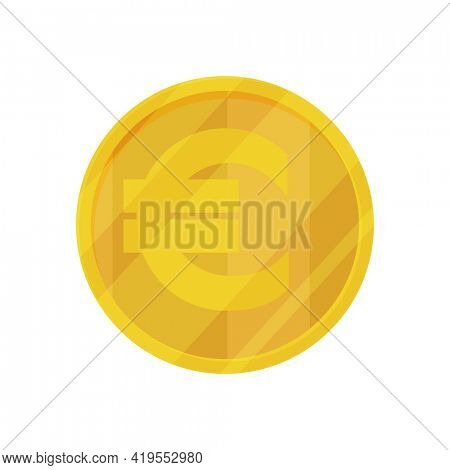 European currency note euro banknotes. Money  illustration. Investment capital wealth savings or financial prosperity symbol. Coin money