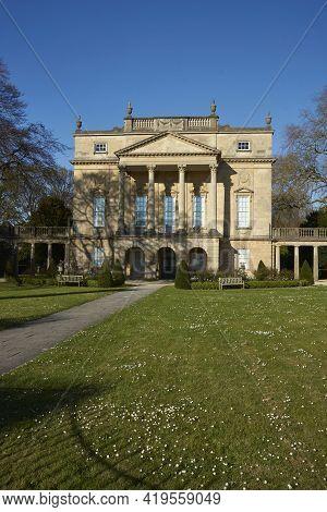 Bath, England - April 25, 2021: Holbourne Museum In Bath, England. Historic Georgian Style Building