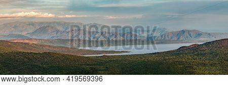 Panorama Of Chamo Lake Natural Biotope, Landscape In The Southern Nations, Nationalities, And People