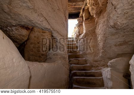 The Exit From The Economic Cave - Columbarium - A Dovecote Near The Excavations Of The Ancient Mares